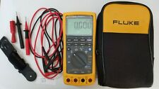 USED FLUKE 789 PROCESS METER WITH LEADS +STORAGE CASE AND MORE! 239569