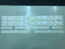 New Holland 315 Hayliner Decals