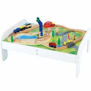 Rail Play Table Big City Lifting Bridge fun for kids Uk seller