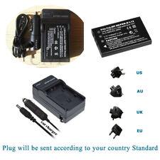 Battery+ CHARGER  for HP L1812A R607 R707 R725 R717 R817 Kodak KLIC-5000