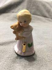 Enesco Growing Up Birthday Girls Figurine Age 1 Cake Topper Blonde  G1