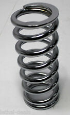 """PRO SHOCKS Coil Spring 2 1/2"""" 500lb. 9"""" Tall  Coil-Over  ONE SPRING  Chrome NEW"""