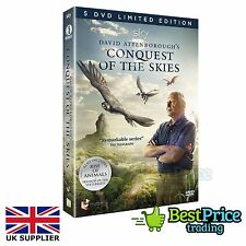 David Attenborough's Conquest Of The Skies - 5 DVD Limited Edition *NEW & SEALED