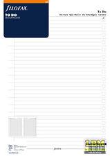 Filofax A4 size To Do Notepaper Insert Organiser Refill (Multi Language) 294073