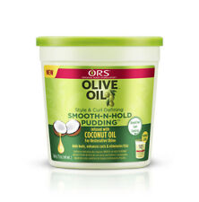 ORS Olive Oil Style & Curl Defining Smooth N Hold Pudding with Coconut Oil 13oz