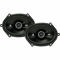 "Kicker DS Series 6x8"" 2-way Car Speakers - 43DSC6804"