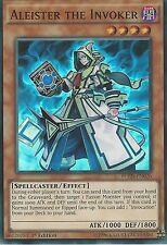 YU-GI-OH CARD: ALEISTER THE INVOKER - SUPER RARE - FUEN-EN026 1ST EDITION