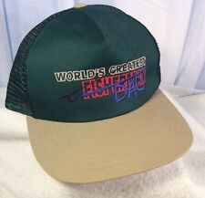 World's Greatest Fisherman Dad Hat - Great Gift For a Father who likes to fish