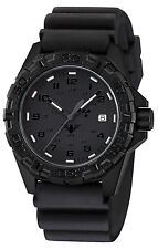 KHS Tactical Watch Reaper XTAC Red H3 Light Date Black Diver Band Swiss Movement