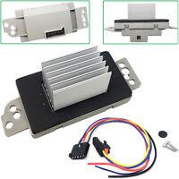 Heater Blower Motor Resistor w/ Plug For 2006-09 Chevrolet Trailblazer 4.2L 6.0L