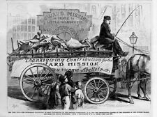 CHILDREN OF THE HOWARD MISSION AND HOME FOR LITTLE WANDERERS WAGON FULL OF MEAT