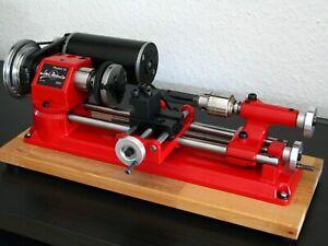 EMCO UNIMAT SL / DB Drehmaschine 300W Stufenlos + Zubehör Sammlerstück *NOS*