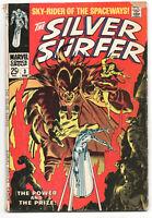 Silver Surfer 3 1st Series Marvel 1968 VG 1st Mephisto Stan Lee John Buscema