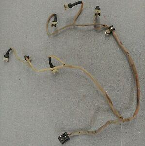 NICE USED ORIGINAL PORSCHE 911 CARRERA 3.2 COMPLETE FUEL INJECTOR WIRING HARNESS