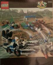 LEGO 5955 Adventurers:Dino Island-All Terrain Trapper COMPLETE W/ ORIGINAL INSTR