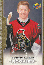 14/15 2014/15 Masterpieces Rookie Curtis Lazar #175 Senators SP