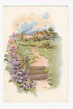 Old Trade Card Ivers & Pond Pianos D. S. Andrus Elmira New York