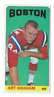 Art Graham Boston Patriots 1965 Topps Short Print Card #11