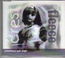 (CX619) Crest/Fleece, Split Single - 1999 CD