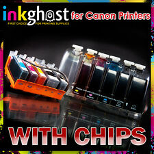 Canon compatible CISS IP4950 IP4850 MX715 with CHIPS PGI-525 526 cartridges Ink
