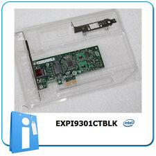 Tarjeta Red Ethernet PCIe 1x intel Gigabit Nic Card EXPI9301CTBLK low profile