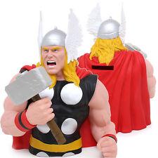 "Marvel Hero Thor  Bust Figure Coin Bank - 8"" Avengers 3D Figure"