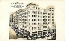 LOS ANGELES CALIFORNIA JW ROBINSON DEPARTMENT STORE 1917 REAL PHOTO POSTCARD