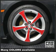 "Chevrolet Camaro 20"" Wheel Inserts Decal Stripes 2010 2011 2012 2013 2014 2015"