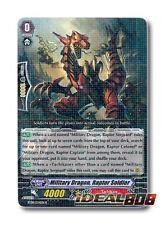 Cardfight Vanguard  x 4 Military Dragon, Raptor Soldier - BT08/034EN - R Mint