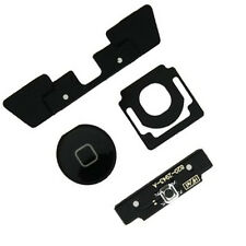 4 in 1 iPad 2 Menu Home Button Key Cap External + Internal Flex Cable Set Black