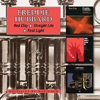 FREDDIE HUBBARD - RED CLAY/STRAIGHT LIFE/FIRST LIGHT 2 CD NEU