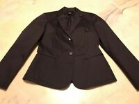 The Limited Stretch Size Small Brown Jacket