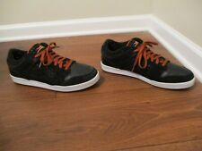 Used Worn Size 13 Lakai Carroll 4 Skateboard Shoes Black Copper White