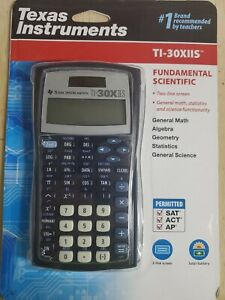 Texas Instruments TI-30XIIS Scientific Calculator Black NEW IN PACKAGE FAST SHIP