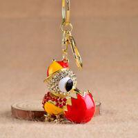 Popular Keychain Key Ring Holder Keyring Porte clef Gift Women Car Bag Pendant