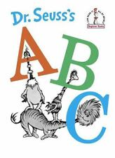 Beginner Books: Dr. Seuss's ABC by Dr. Seuss (1963, Hardcover)