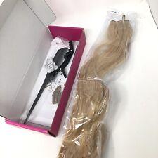 """Sassina Halo Hair Extensions 20"""" #18 Ash Blonde 100% human hair"""