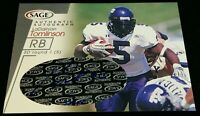 SP #'D /400 LADAINIAN TOMLINSON RC AUTO *MINT-GEM MINT RAW ROOKIE CARD 2001 SAGE