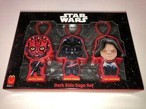 STAR WARS Rise Skywalker McDonalds Happy Meal 3 Pack Darth Vader Maul Emperr toy