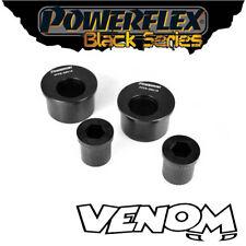 Powerflex Black FRONT WISHBONE POSTERIORE BOCCOLE Caster BMW serie 3 E46 PFF5 -5601 gblk