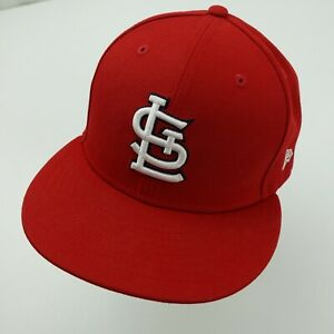 St Louis Cardinals New Era Ball Cap Hat Fitted 7 3/8 Baseball