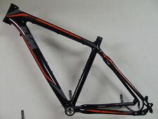 KTM Chronos LC Carbon Trekking Cross Rahmen 1400gramm 46cm schwarz-orange