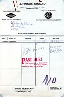 Cambridge Maryland Vintage Billhead Receipt Johnson Kincaid Goodyear Tires GE