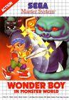 Wonder Boy in Monster World - SEGA Master System (Complete & Like New)