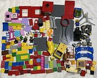 LEGO Duplo Lot 5.5 lbs Disney Fire Toy Story Bricks Specialty 7 Figures Animals