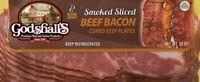 Godshall's Beef Bacon 12 Oz (6 Pack)