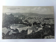 AK Postkarte Blankenburg Harz antik Ortsansicht 1907 Stadt