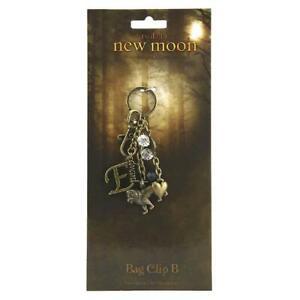 The Twilight Saga New Moon Keyring BagClip A & B New