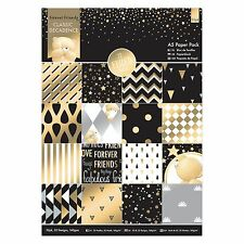 A5 PAPER PACK - Forever Friends Decadent Collection - Docrafts