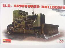 US Army Bulldozer - Planierraupe - Mini Art Bausatz 1:35 - 35188 #E
